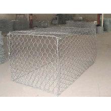 Hot Dipped Galvanized Gabion Box Hexagonal Mesh