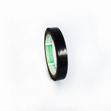 10m Long 15mm Wide 0.15 Thickness OEM Safety Warning Tape Black Floor Marking Tape