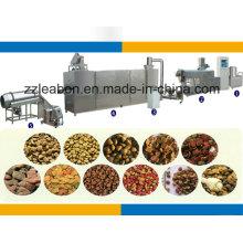 Producción automática de pellets de alimentos para mascotas pequeña completa que hace la maquinaria
