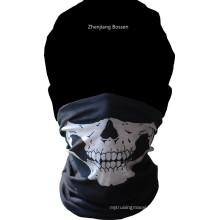 OEM Produce Skull Printed Polyester Multifunctional Magic Tube Headwear