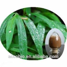 Polvo de bambú del extracto de la hoja de la alta calidad 100% pureza Flavone 40%