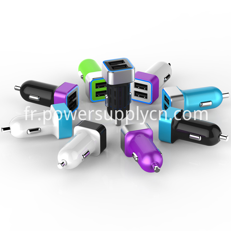 Dual usb port car charger