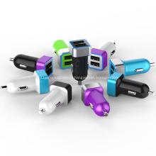 2.4A Dual USB-Port Carregador de carro para Iphone