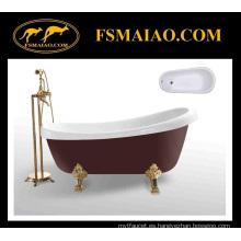 De estilo clásico acrílico freestanding bañera roja (ba-8303)