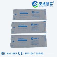 Dental Sterilization Flat Reel Self Sealing Pouch
