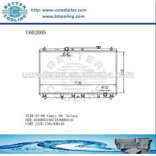 Radiateur pour TOYOTA 1640003140/1640003141 CAMRY 97-98 Fabricant et vente directe