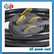 UL CUL 50A 125/250V NEMA 14-50P power cord for industrial equipment