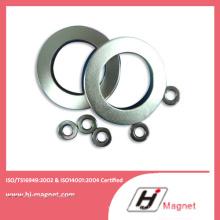 Aglomerado de terra rara permanente N52 anel China ímã de NdFeB fabricante com alto padrão