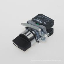 Lay4-Bd33 Interruptor de 3 posiciones / Botón selector de manija estándar