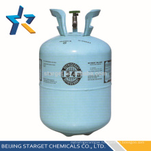 99.9% 13.6kg Pure R134A Refrigerant Gas for Refrigerator Y