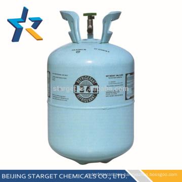 99.9% 13.6kg Pure R134A Refrigerant Gas for Refrigerator Y