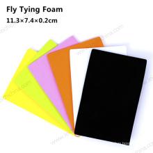Nouvelle conception Fly Tying Materials Mousse de pêche