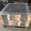 cercas de aluminio horizontales antideslizantes anti-subida