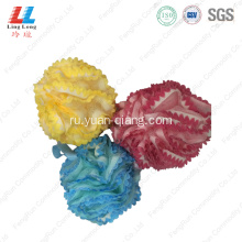 Lace baby shower loofah mesh foam sponge