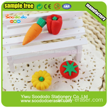 3D Strawberry Kaka Formad Eraser