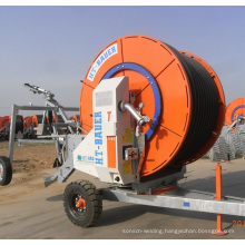 Factory Two wheel Driving Hose Reel Irrigation system