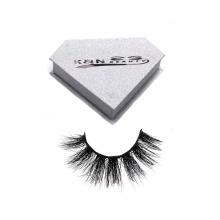 28 Hitomi magnet eyelash packaging box mink eyelashes hand made type Fluffy real more layers mink eyelash with private label