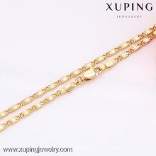 42576 bijoux de collier de glitter de mode de Xuping Mini avec l'or 18K plaqué