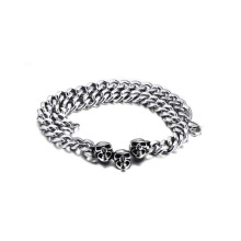 Wholesale cheap skull necklace chain by 316l stainless steel