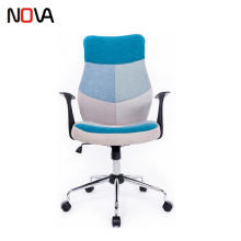 Leather swivel adjustable high back armchair recliner gas lift for office chair