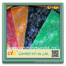 Fashion new design pretty colorful ningbo printing Pp Laser Non woven Fabric