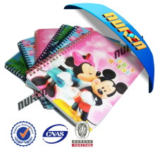 2015 Hot Sale 3D Printing Notebook Cover
