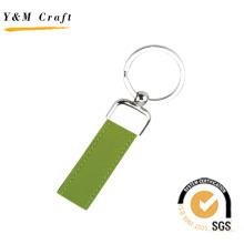 Lasergravur Logo Stempel Leder Schlüsselanhänger Schlüsselanhänger (Y02554)