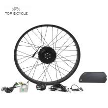 26 '' x 4.0 Fat pneu vélo plage neige électrique vélo convension kits 48 v 750 w