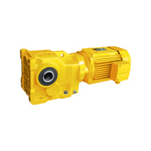 90 Degree K Series Hollow Shaft Output Dc 12v Single Phase Gear Motor Electric Motor With Gear Box Helical Bevel Gearbox