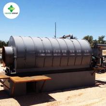 última tecnología que procesa el producto de goma del neumático a la máquina de planta diesel