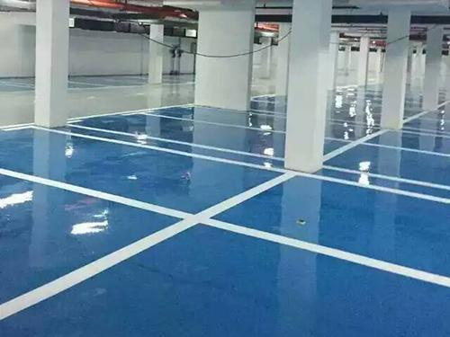 Garage High Strength Epoxy Self Flowing Flat Paint