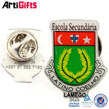 New product epoxy coated metal badges of famous brands