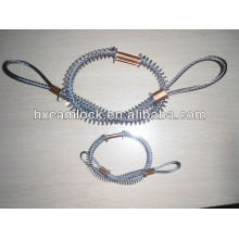 Stainless steel whipcheck safety cable