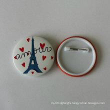 Tower Pin Badge of Tinplate Custom Badge (HY-MKT-0027)