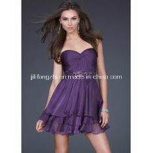 Tissu de voile pour robe de soirée
