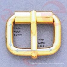 Kleine rechteckige Dornrollschnalle für Tasche (D3-24S - 8 # x1.905x1.27cm)