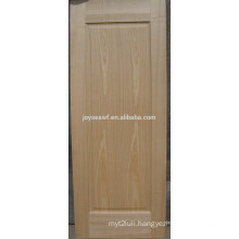 wood Veneer Moulded Door Skin with natural Ash Wood Veneered
