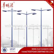 Melhor Qualidade Bom Design Jardim Aço Lâmpada postes de iluminação pública