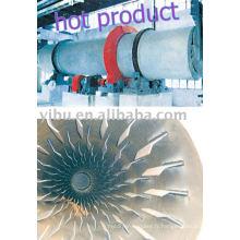 Séchoir à barillet rotatif utilisé en poudre de métal