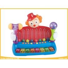 Baby-Spielzeug-elektronisches Musikspielwaren-Clown mit Multifunktionsspiel-Spielwaren