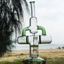 Explorador de la tierra más nuevo diseño de agua de vidrio tuberías de fumar (ES-GB-285)