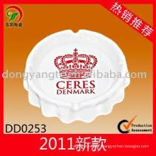 Ceramic household ashtray