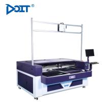 DT1610-P Auto doble plataforma alternativa hollw-out vamp láser de grabado y corte de la máquina