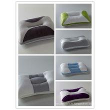 2014 nouvel oreiller en mousse de mémoire oreiller coloré pas cher
