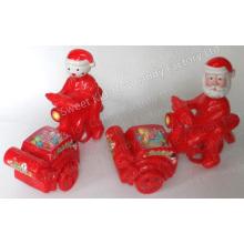 Sankt u Snowman Fahrrad Spielzeug-Süßigkeit (120605)