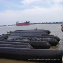 Tubos de elevação pesados, navio que lança o balão de ar de borracha marinho para a embarcação que Upslip e que aterra, salvamento marinho para o barco de madeira, Ferrys, fuzileiros navais infláveis