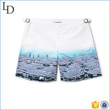 2017 hombres de la moda syblimated playa pantalones cortos estilo de camión de natación