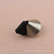 Schwarzer magnetischer Türstopper