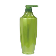 Capsules de bouteille de shampooing de HDPE de plastique rond de 1000ml
