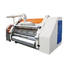 2 ply corrugated cardboard making machine/single facer machine line